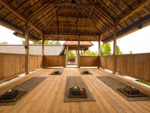 Bliss Sanctuary for Women, Canggu massage and yoga chalet room
