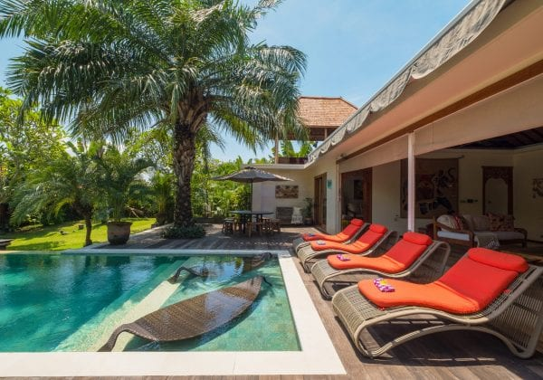 Bliss Sanctuary for Women, Canggu pool
