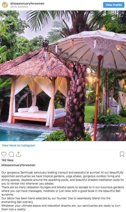 World best hotels for women Bliss Sanctuary for Women