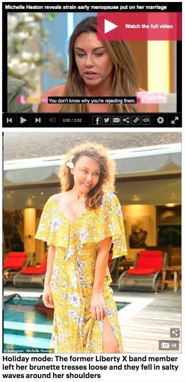 Liberty X Michelle Heaton at Bliss Bali retreat, Daily Mail Australia
