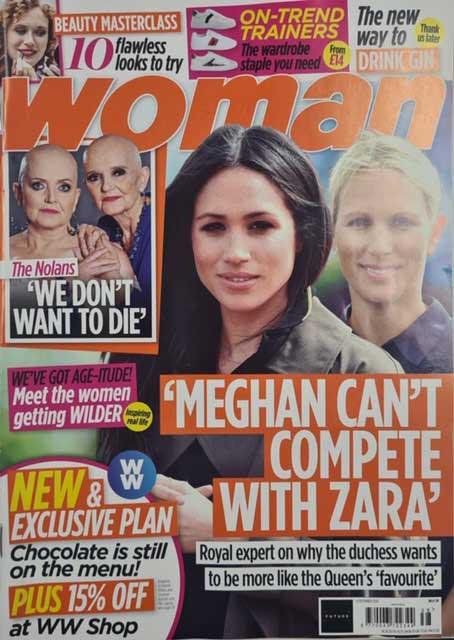 September 2020 Woman magazine cover