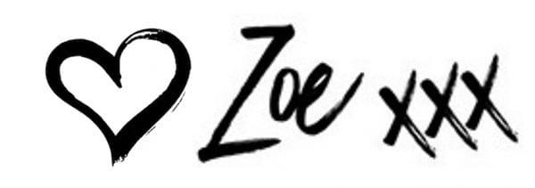 Zoe signature