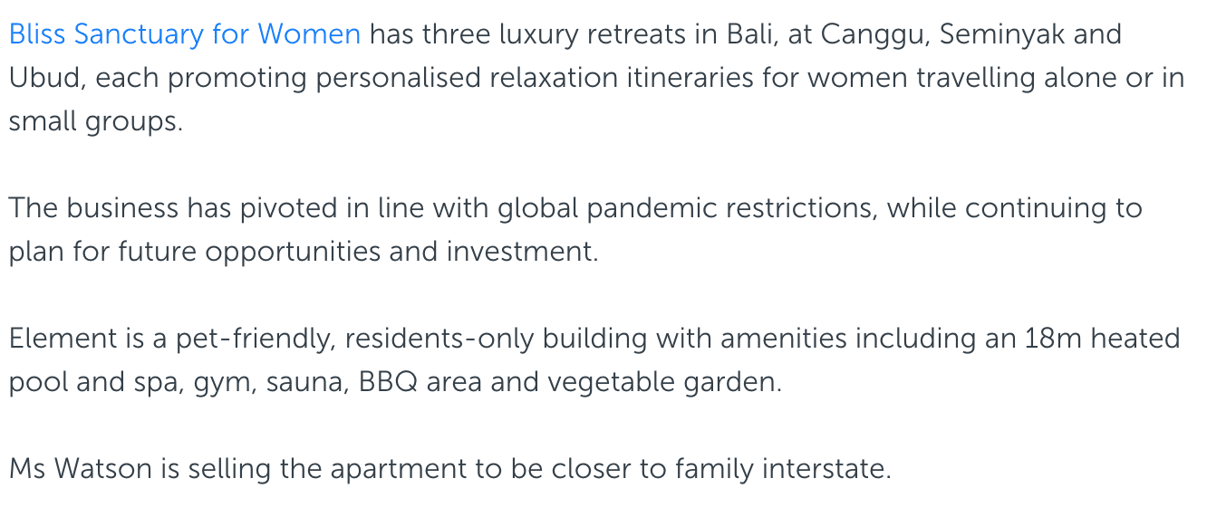 Gold Coast Bulletin: Retreat owner brings Bali bliss to luxury Burleigh Heads apartment 11