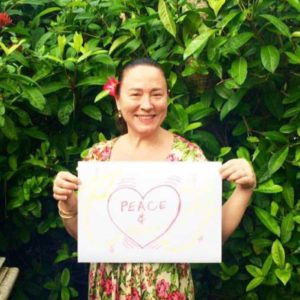 Bliss n tell  - Real people - Feel Peace - at Bliss Sanctuary for Women in Bali