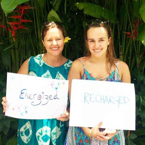 Bliss n tell  - Real people - Feel energised and recharged - at Bliss Sanctuary for Women in Bali