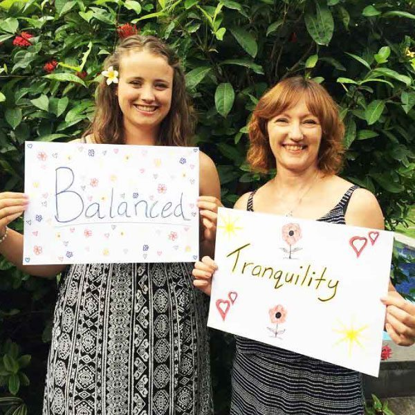 Bliss n tell  - Real people - Feel balanced and tranquility - at Bliss Sanctuary for Women in Bali