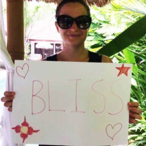 Bliss n tell  - Real people - Feel bliss - at Bliss Sanctuary for Women in Bali