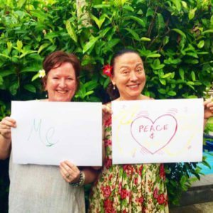 Bliss n tell  - Real people - Feel like me and peace - at Bliss Sanctuary for Women in Bali