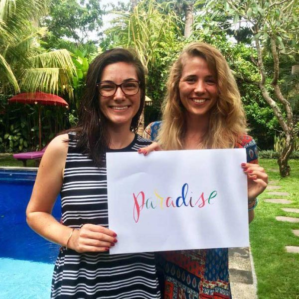 Bliss n tell  - Real people - Feel like Bliss is paradise - at Bliss Sanctuary for Women in Bali