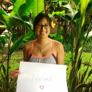 Bliss n tell  - Real people - Feel nurtured - at Bliss Sanctuary for Women in Bali