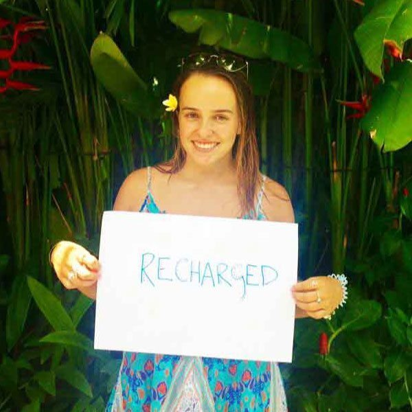 Bliss n tell  - Real people - Feel rechargedl - at Bliss Sanctuary for Women in Bali