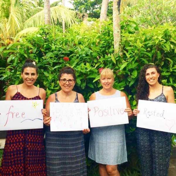 Bliss n tell - Real people - Feel free, positive and rested - at Bliss Sanctuary for Women in Bali