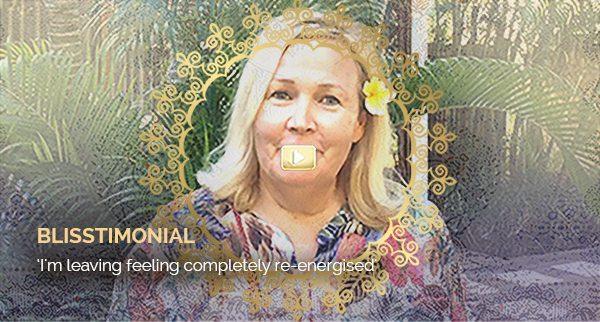 Blisstimonial Video: I'm leaving feeling completely re-energised