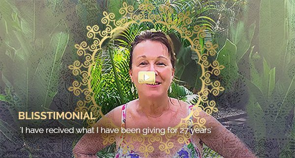 Blisstimonial Video: I have received what I have been giving for 27 years