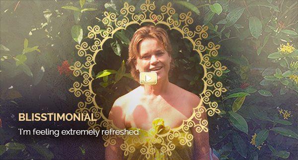 Blisstimonial Video: I'm feeling extremely refreshed!