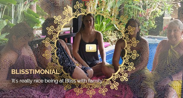 Blisstimonial Video: It's really nice being at Bliss with family