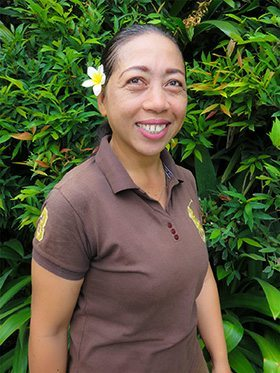 Our people - Canggu Staff - Nur - Gardening